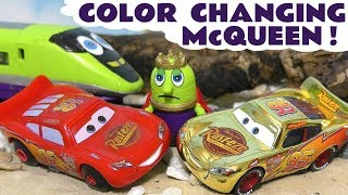Disney Cars Toys Lightning Mcqueen Color Changing Cars For The Funny Funlings King Funling Tt4u