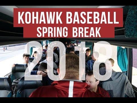 Coe College Baseball Spring Break Trip 2018
