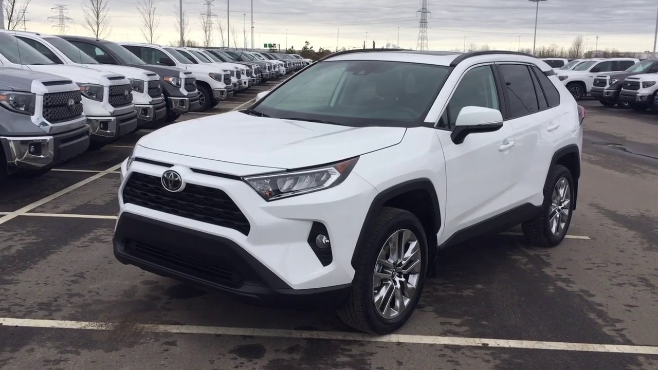 2019 Toyota Rav4 Xle Premium Review Youtube