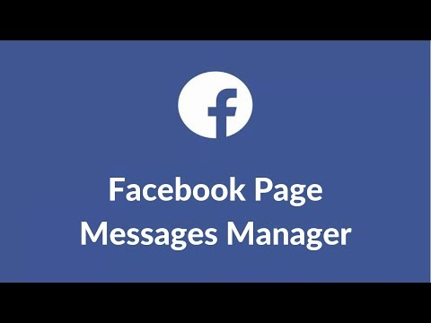Facebook Page Messages Manager