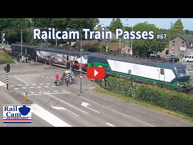 RailCam with 30 Train passes #67