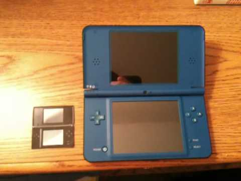 nintendo dsi xl vs nintendo ds lite youtube. Black Bedroom Furniture Sets. Home Design Ideas
