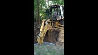 New Cesspool installation 2