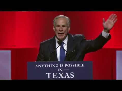 Governor Greg Abbott Speaks at Republican Party of Texas Convention 2018