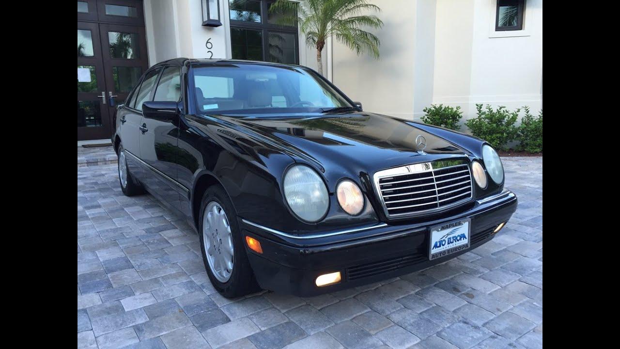 1997 Mercedes E320 >> Sold 1997 Mercedes Benz E320 Sedan For Sale By Auto Europa Naples