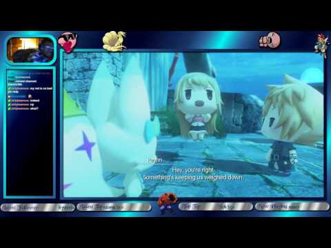 The Hrt of World of Final Fantasy