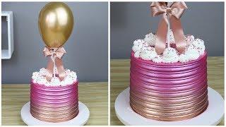 BALLOON CAKE - BOLO DECORADO BALLOON CAKE - Bru na Cozinha