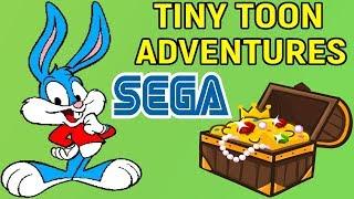 ЛУЧШАЯ ДЕТСКАЯ ИГРА НА СЕГА - Tiny Toon Adventures: Buster's Hidden Treasure