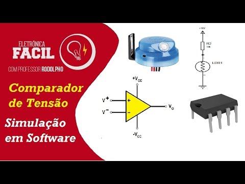 Amplificador Operacional - Simulação- Fotocélula