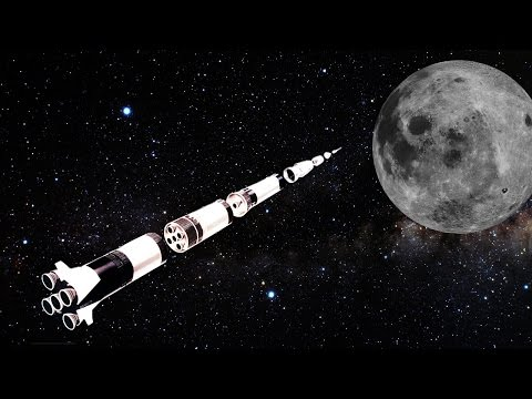 How the Saturn V Broke into Pieces Launching to the Moon