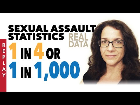 Sexual Assault Prevalence & Conviction Rates | Theories Vs Actual Numbers REPLAY