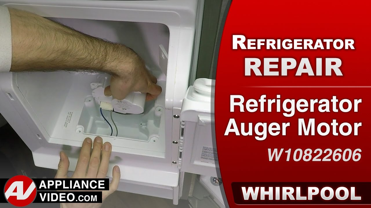 Whirlpool, Maytag & KitchenAid - Auger Motor - Diagnostic & Repair