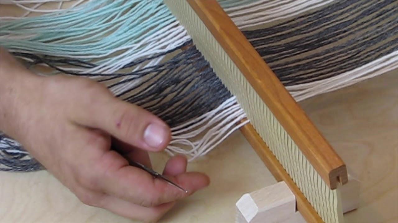 Beka Rigid Heddle Loom Warping Instructions