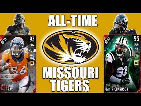 All-Time Missouri Tigers Team - Shane Ray and Sheldon Richardson! - Madden 17 Ultimate Team