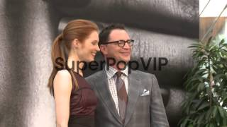 Darby Stanchfield and Joshua Malina at 53rd Monte-Carlo T...