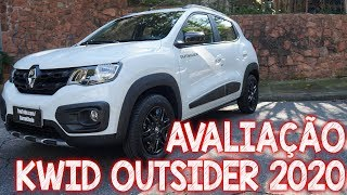 Avaliação Renault Kwid Outsider 2020 - a versão aventureira do KWID