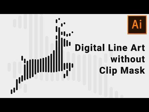 Digital Line Art Effect | Illustrator Tutorial