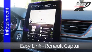 Infotainment EASY LINK - focus su Renault Captur 2020