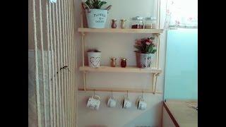 diy rope shelves,easy rope shelves in 15 minutes