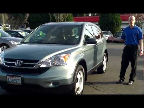 2011 Honda CR-V LX AWD review, start up, exhaust - interior, exterior, let's take a look