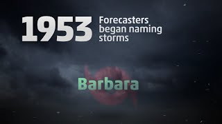 Talking Tropics: How Do Hurricanes Get Their Names?