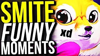 THE DAB TEAM! - SMITE FUNNY MOMENTS