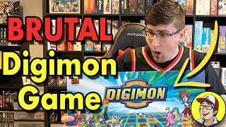 The BRUTAL Digimon Board Game - Ultimate Adventure