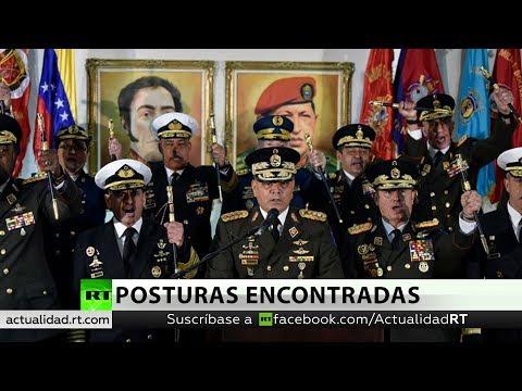 """Las Fuerzas Armadas de Venezuela tildan la autoproclamación de Guaidó de """"golpe de Estado"""" en marcha"""