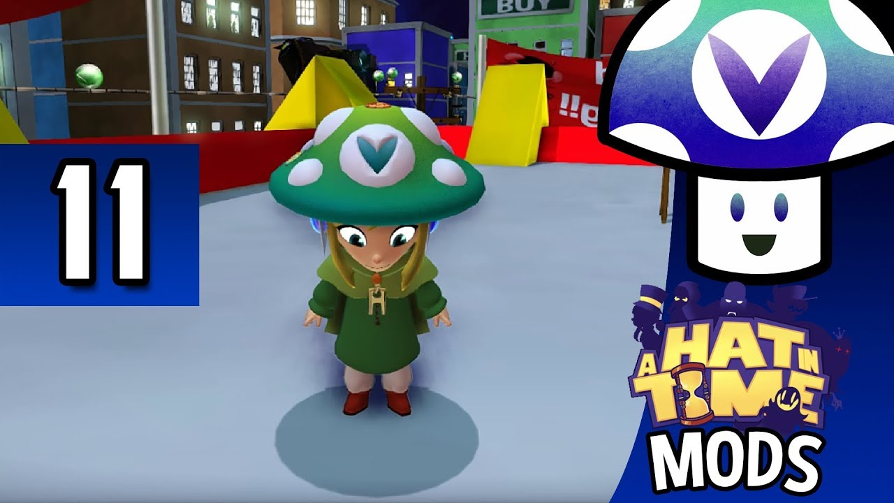 [Vinesauce] Vinny - A Hat in Time: Mods (part 11) #1