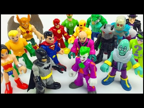 Batman Imaginext DC Superheroes and Villians Figure Packs Justice League Battles The Legion of Doom