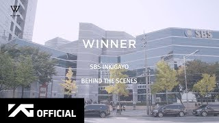 WINNER - 'CROSS' SBS INKIGAYO BEHIND THE SCENES