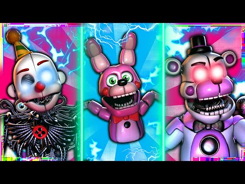[SFM FNAF] Sister Location Voice Lines Animated