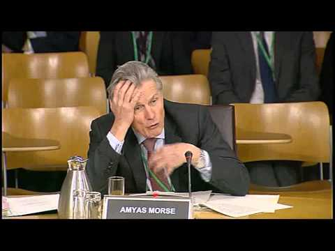Public Audit Committee - Scottish Parliament: 15th January 2014