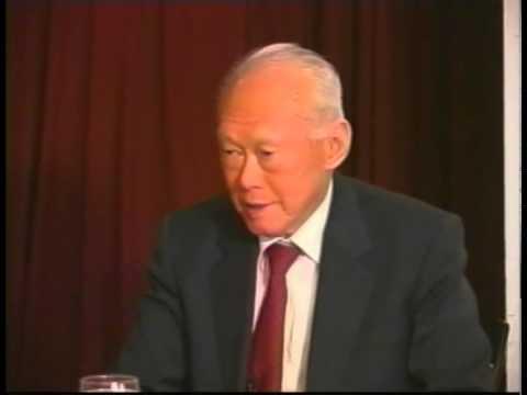 Lee Kuan Yew on Leadership: The Harvard Interview