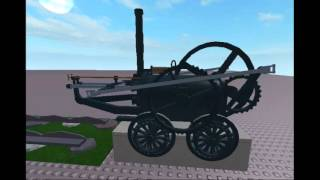 Richard Trevithick Pen-y-darran locomotive, first on ROBLOX.