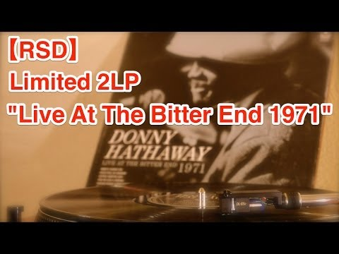 """【RSD 2014】DONNY HATHAWAY""""LIVE AT THE BITTER END 1971""""(4,000 Limited 2LP vinyl)"""