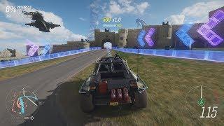 Forza Horizon 4 - All 5 Showcase Events (Hovercraft, Train, Bikes, Plane and Halo Special)