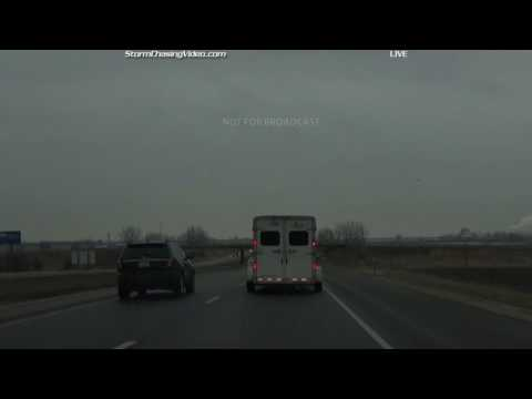 Northern, IL TORNADO & Storm Chase Live - 2/28/2017