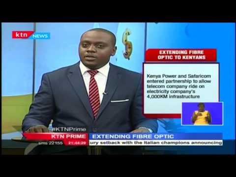 Safaricom and Kenya Power enter partnership to run Fibre Optic cables