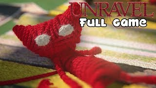 Unravel - FULL GAME  (All Collectibles) - Walkthrough - No Commentary