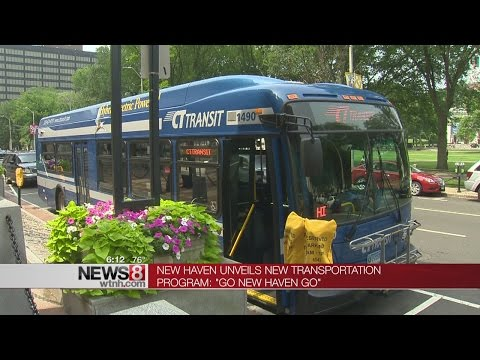 """Go New Haven Go"" transportation program unveiled"