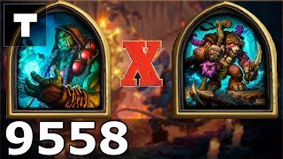 Hearthstone: Kobolds & Catacombs Shaman vs Blackseed [04] (9558)