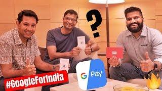 Google Pay - New Features and New Updates Ft. Caesar & Ambarish #GoogleForIndia 🔥🔥🔥
