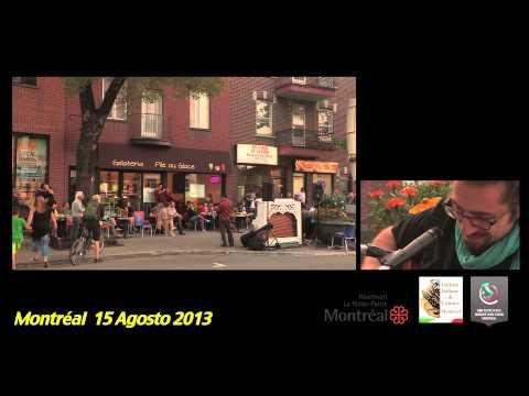 Piano à la Petite Italie Montréal   court