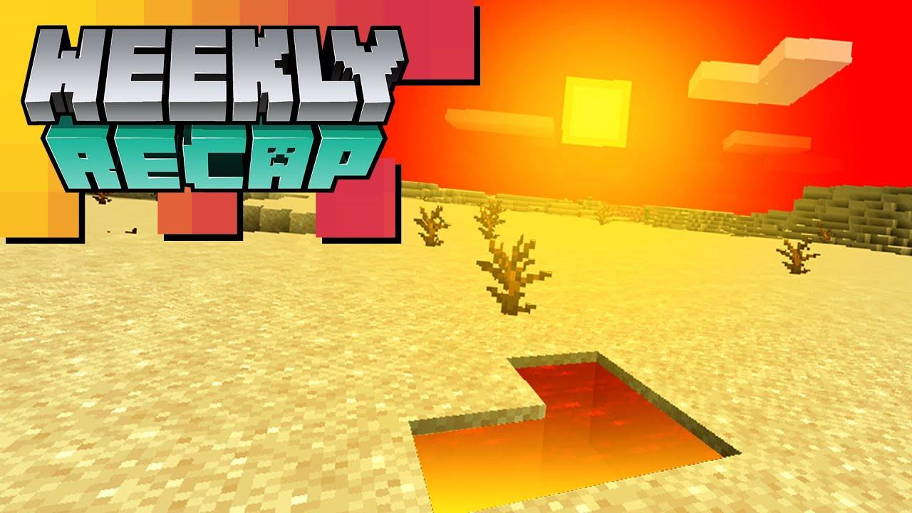 Minecraft Weekly Recap: CUSTOM BIOMES, Snapshot 20w28a, Interview with HelenAngel