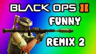 Black Ops 2 Funny Moments Remix Song 2 (puncake, Rage, No God Dayum, Trolling, Game Chat)