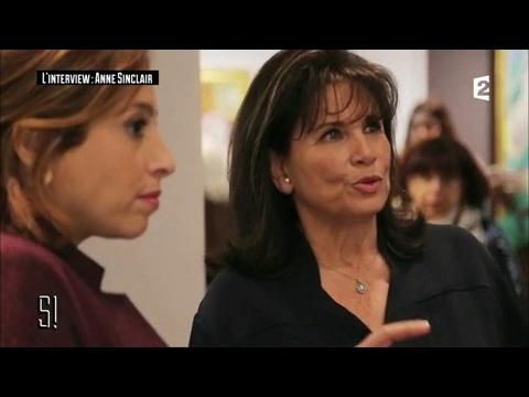 L'entretien : Anne Sinclair - Stupéfiant !
