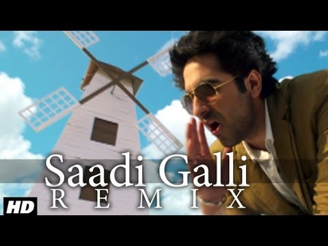 Saadi Galli Aaja Nautanki Saala Video Song (Remix) ★ Ayushmann Khurrana, Pooja Salvi