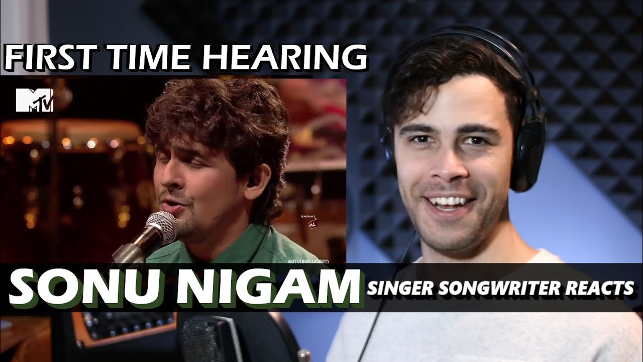 SONU NIGAM - Abhi Mujh Mein Kahin Unplugged | Singer Songwriter REACTION