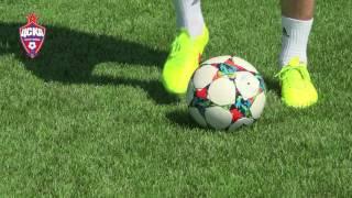 Урок №7 - Видео уроки по футбольным упражнениям от Евгения Алдонина